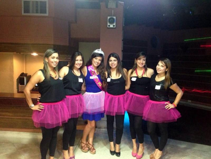 Luisa Fernanda Ruiz, Isabel Duarte, Jennifer Acela, Angie Martínez, Paola Miranda y Karen Cediel. - Suministrada / GENTE DE CABECERA