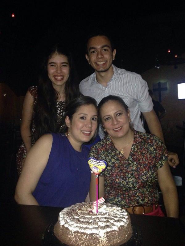 Katherine Hoyos Rizo, Pedro Rafael Barreto Rizo, Manuela Fernanda Suárez Rizo y Astrid Marina Rizo Galvis. - Suministrada / GENTE DE CABECERA