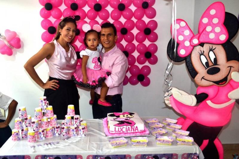 Mónika María Leal Abril, Luciana Gómez Leal y Héctor Mauricio Gómez. - Suministrada /GENTE DE CABECERA