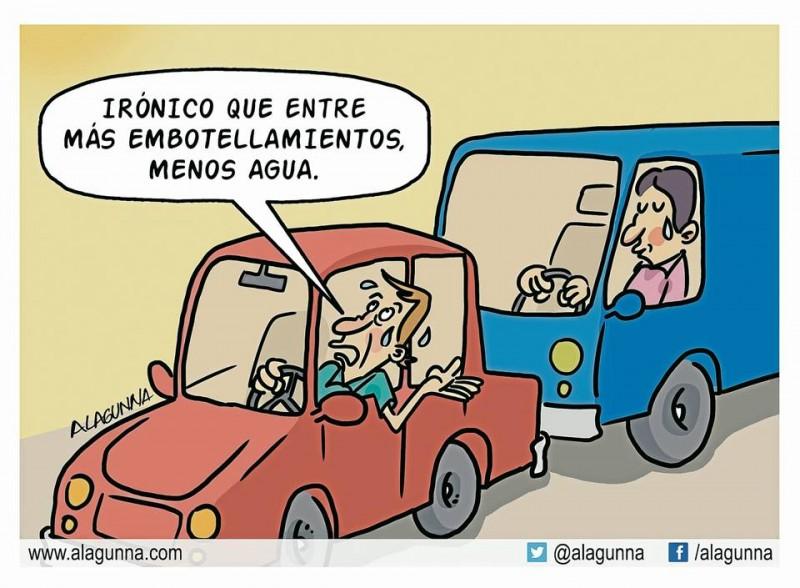 Caricatura de Gente de Cabecera.