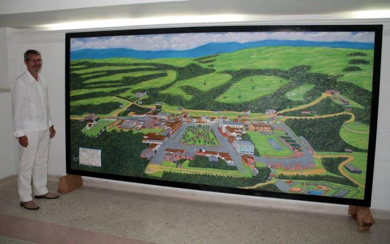 El maestro Enrique Granados nació en San Vicente de Chucurí, pero desde 1980 vive en Bucaramanga