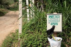 En el barrio Pan de Azúcar también se instaló un dispensador