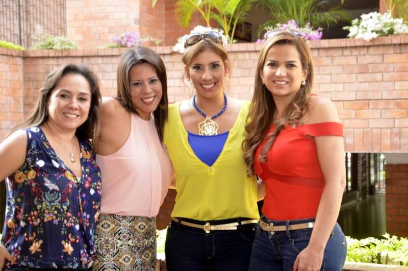 Sandra Cuevas, Martha Lizcano, María Margarita Higuera y Érika Moreno. - Suministrada / GENTE DE CABECERA