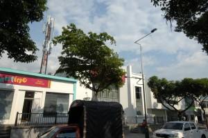 Esta es la antena que denuncia la periodista del barrio. - Jaime Del Río/ GENTE DE CABECERA