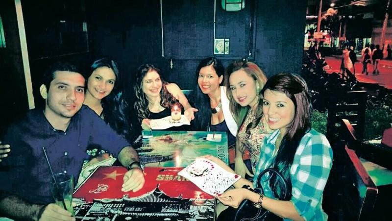 Néstor Silva, Adriana Santos, Mayerly Rallón, Ana Muñoz,  Ana Castillo y Érika Castillo. - Suministrada / GENTE DE CABECERA