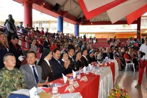 A la conmemoración asisiteron distintas personalidades de Bucaramanga