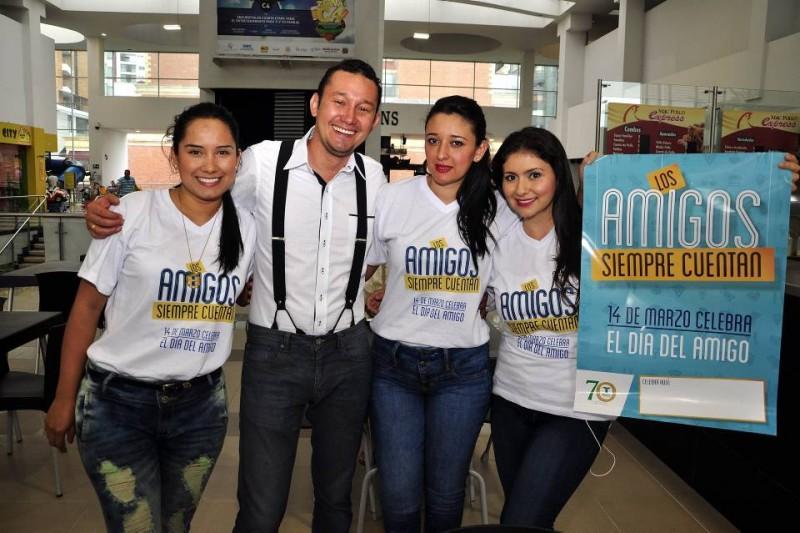María Fernanda Pérez, Mauricio Muñoz, Lorena Barbosa y Diana Moreno. - Didier Niño / GENTE DE CABECERA