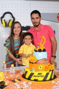 Maira Mogollón, Juan Fernando Serrano y Fernando Serrano. - Suministrada Manuel Reyes Fotografía / GENTE DE CABECERA