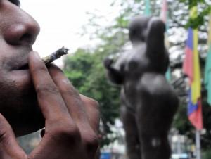 El consumo de sustancias alucinógenas en sitios públicos de Cabecera es otro tema que preocupa a los residentes de este prestigioso barrio de Bucaramanga