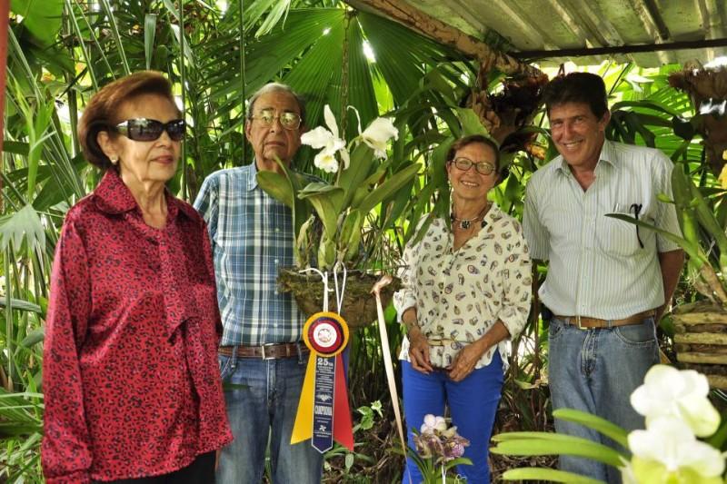 Lucila Zafra De Ledesma, Santiago Estévez, Mary Charry Narváez y Fernando Puyana. - Laura Herrera / GENTE DE CABECERA