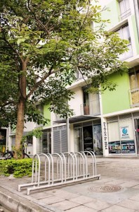 El edificio La Recoleta es un ejemplo de biciparqueaderos en zonas residenciales.