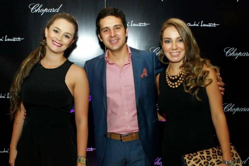 Mariana Cárdenas, Jorge Azuero y Mónica Gómez.