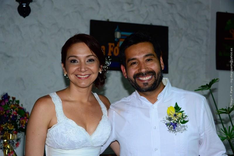 María Catalina Bonilla Centeno y Janzon Michel Barriga Yáñez.