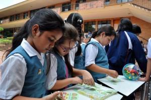 Las estudiantes exploraron de diversas formas el mundo de las matemáticas. - Suministrada / GENTE DE CABECERA