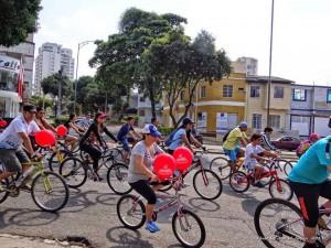 Grandes y chicos podrán participar de los eventos programados para los amantes de la bicicleta. - Tomada de Facebook Ciclaramanga / GENTE DE CABECERA