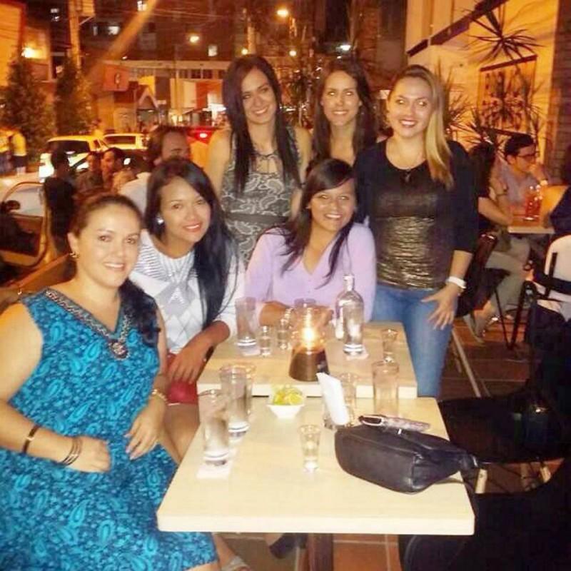 Nancy Acuña, Linda Celis, Vanessa Díaz, Lady Acuña, Silvia Clavijo y Claudia Ramírez. - Suministrada / GENTE DE CABECERA