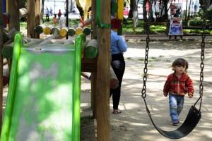 La adecuación de zonas de juegos infantiles hace parte de las gestiones que asume la JAC