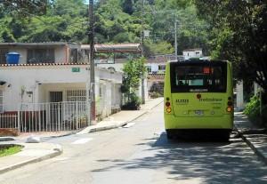 La ruta AB1 parte de Pan de Azúcar y culmina en La Joya. - Tatiana Celis / GENTE DE CABECERA