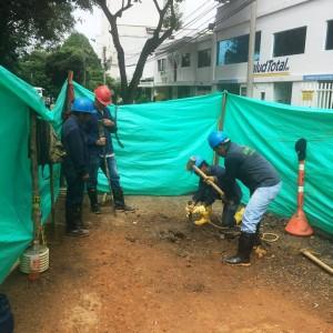 Las obras se realizaron entre el 20 y el 26 de mayo en el barrio Sotomayor. - Suministrada / GENTE DE CABECERA