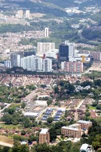 Edificios en el sector del Intercambiardor de Neomundo.