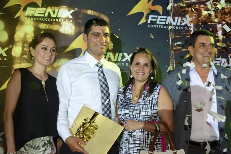 Adriana Serrano, Ferney Badillo, Johana Lagos y Horacio Blanco. - Suministrada / GENTE DE CABECERA