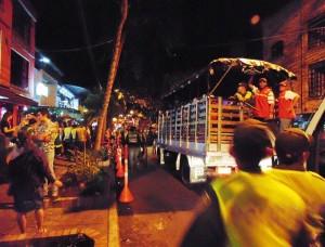 Los menores de edad que se encontraban en la zona fueron trasladados a la Comisaría de Familia.  - Suministrada / GENTE DE CABECERA