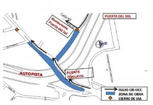 Esta es la zona donde se adelantarán labores en la construcción del Tercer Carril. - Suministrada / GENTE DE CABECERA