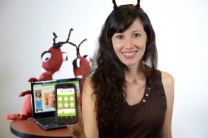 Andrea del Pilar Reyes es ingeniera de sistemas de la UIS y creadora de Métrico. - Suministrada / GENTE DE CABECERA