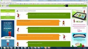 De manera interactiva se encontrará en el sitio una guía para emprender un negocio. - Tomada de Internet / GENTE DE CABECERA