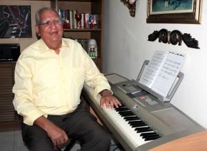 Jaime Abuabara es además un reconocido pianista de la ciudad. - Archivo / GENTE DE CABECERA