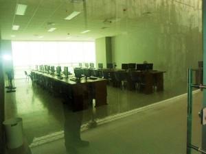 Parte del edificio de laboratorios ya es usada por estudiantes