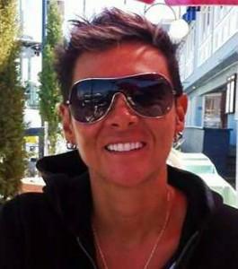 Kelly Carolina Cadena Ragua, entrenadora del Club Poseidón,