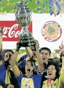 Ganadores Copa América 2001.