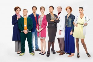 Catalina Denis interpreta a una enfermera en la serie francesa 'Pep's'. - Tomada de Internet / GENTE DE CABECERA