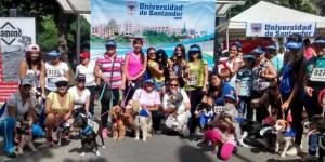 Varias familias del sector participaron en la maratón que partió del Parque Turbay hacia el Parque de Los Niños. - Suministrada / GENTE DE CABECERA