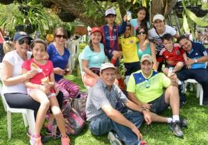 Las familias claverianas asistieron al evento programado por la institución educativa. - Suministrada / GENTE DE CABECERA
