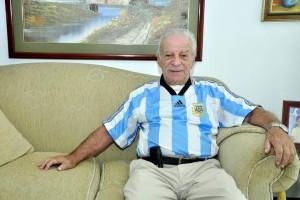 Américo Montanini tiene 82 años. En su trayectoria como futbolista marcó 679 goles como profesional