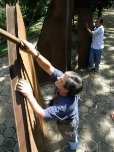 Ricardo Alipio Vargas rescata muchas obras del sector.