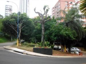 El parquecito está ubicado en límites entre el parque de Los Leones y el barrio Las Américas. - Suministrada / GENTE DE CABECERA
