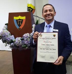 Jorge Andrick Parra Valencia hace parte del Grupo de Investigación en Pensamiento Sistémico de la Unab. - Suministrada / GENTE DE CABECERA