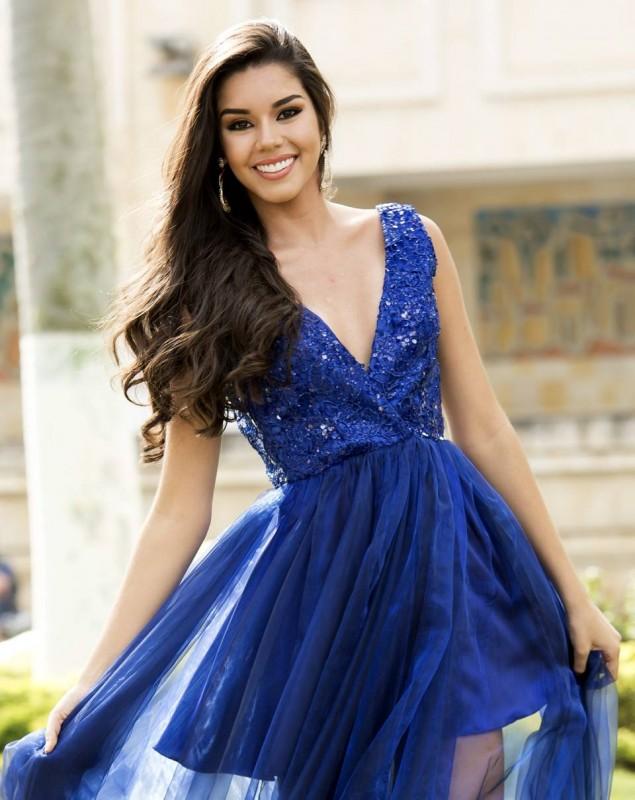 Ashley Ordoñez Arévalo de 18 años y es estudiante  de la Universidad Pontificia Bolivariana