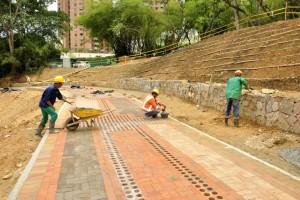 El parque Carlos Virviescas tendrá 2,8 hectáreas de extensión. - Suministrada / GENTE DE CABECERA