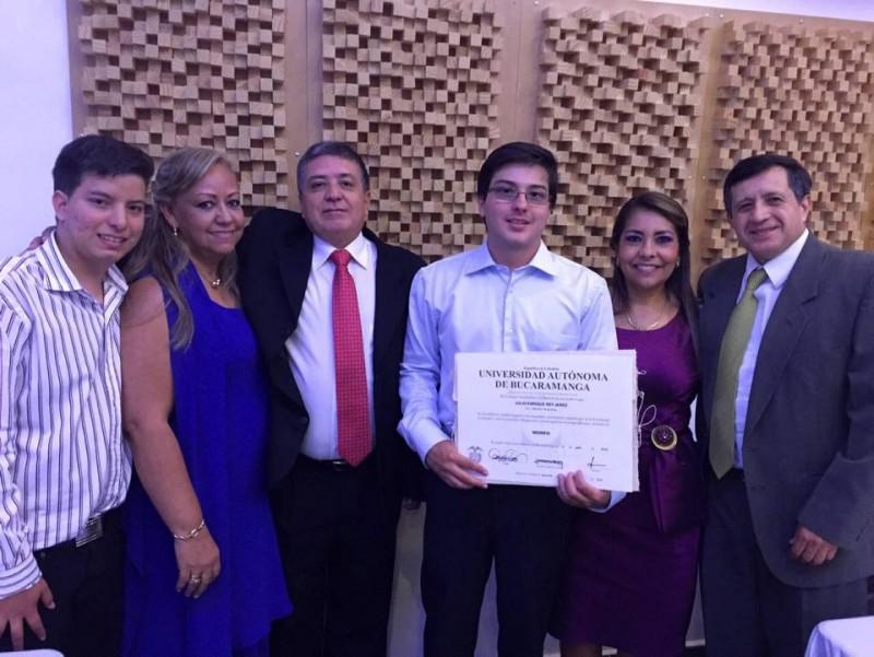 Juan Camilo Rey, Noris de Rey, Alejandro Rey, Julio Enrique Rey, Martha de Quevedo y José Quevedo. - Suministrada / GENTE DE CABECERA
