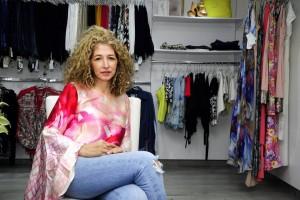 La diseñadora Rebeca Rojas