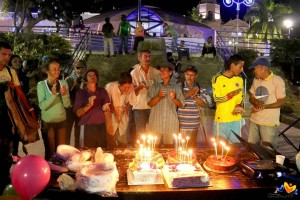 Celebrarle el cumpleaños a los habitantes de calle o crearles el día más feliz de sus días son tan solo dos de las iniciativas que acompañan la labor de la Fundación Construirte.  - Suministrada/ GENTE DE CABECERA