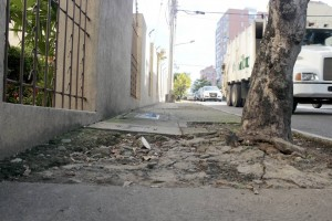 Otros andenes están totalmente deteriorados. - Fabián Hernández / GENTE DE CABECERA