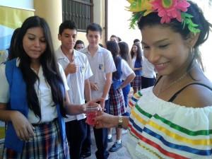 Los estudiantes de décimo grado de la Normal Superior participaron en 'Vive tu patrimonio'. - Suministrada / GENTE DE CABECERA