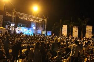 Varias agrupaciones deleitaron a los asistentes al Festival de Música Folclórica, en Panachi. - Suministrada / GENTE DE CABECERA