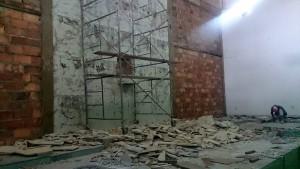 Para lograr un cambio radical se hicieron algunos ajustes en las paredes del altar. - Suministrada / GENTE DE CABECERA