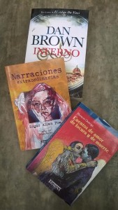 Algunos de los libros más leídos por jóvenes y adultos.